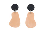Tan Earrings