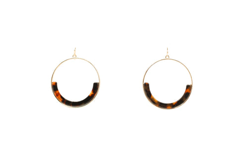 Sphere Circle Earrings