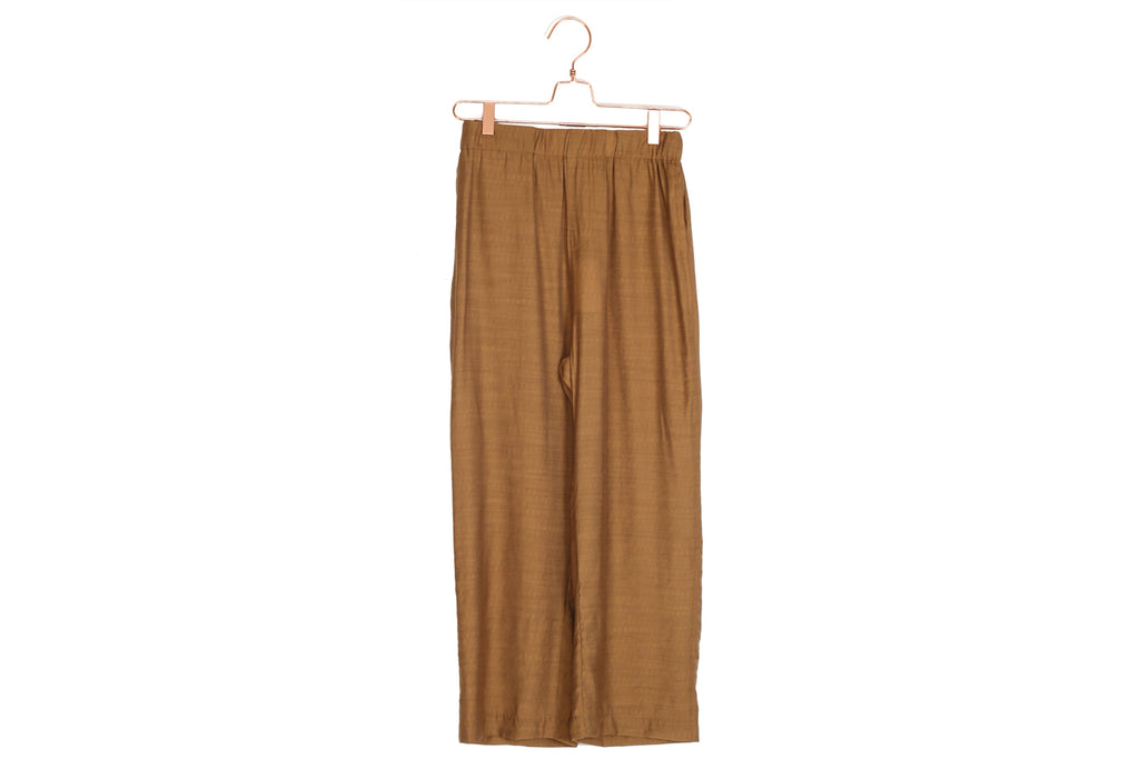 Copper Straight Leg Pants