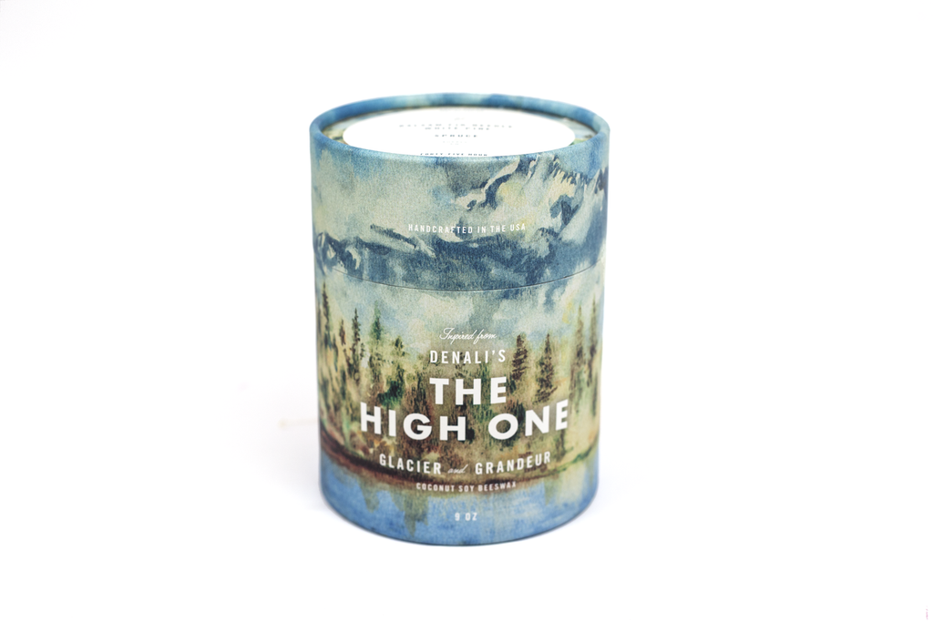 Denali's The High One Candle