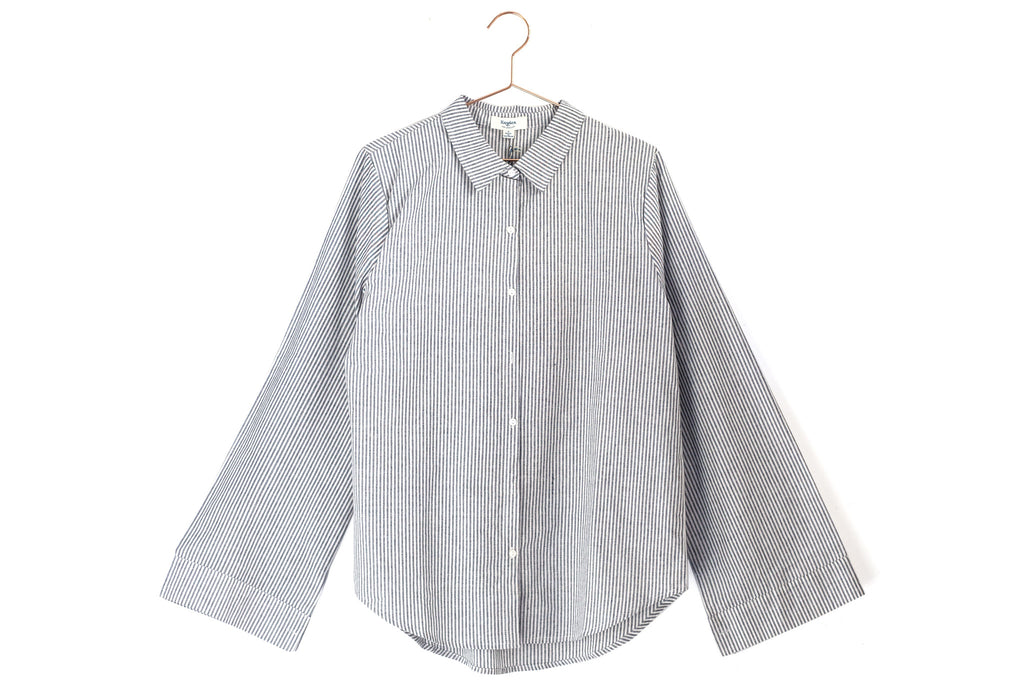 Bell Sleeve Button Up