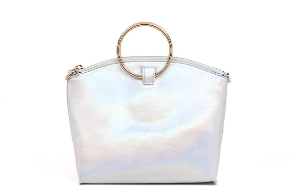 Holographic Ring Purse