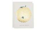 Together Forever String Cats Card