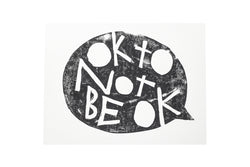 OK to not be OK Print