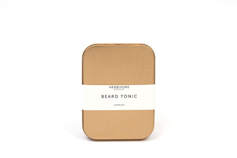 Beard Tonic Sampler