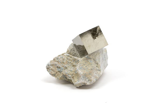 Iron Pyrite Crystal Matrix