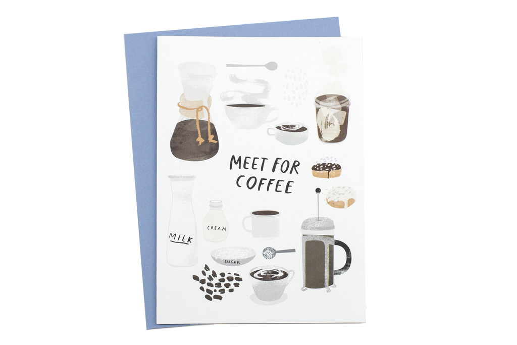 Meet for Coffee Card