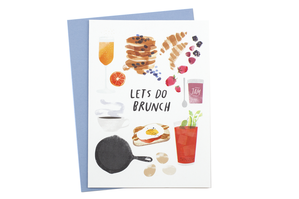 Let's Do Brunch Card