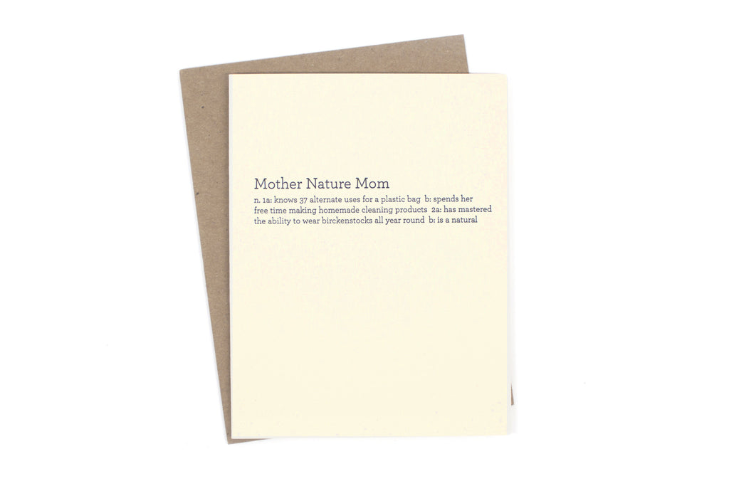 Mother Nature Mom Card
