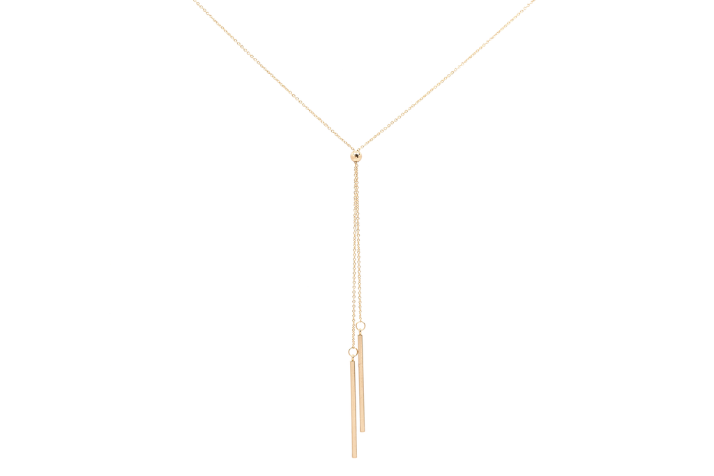 Desert Light Lariat Necklace