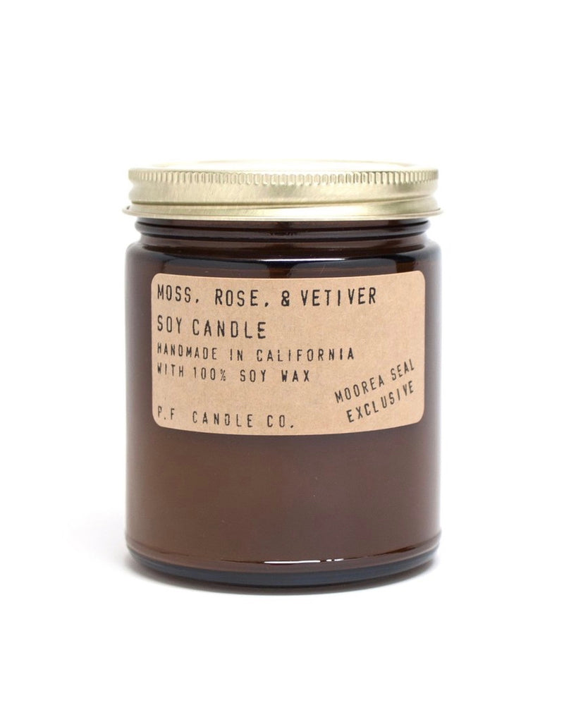 Moss, Rose, & Vetiver Candle