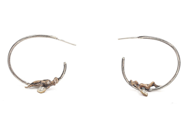 Daydreaming Muse Hoop Earrings