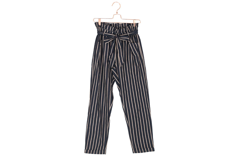 Striped Crop Pants
