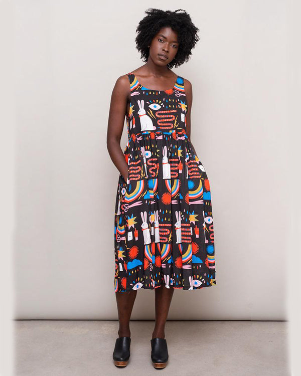Magic Print Naomi Dress