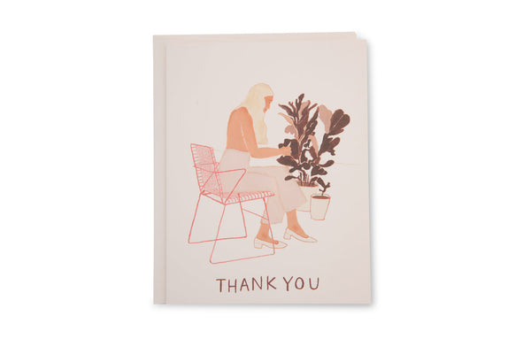 Pruning Plants Thank You Card
