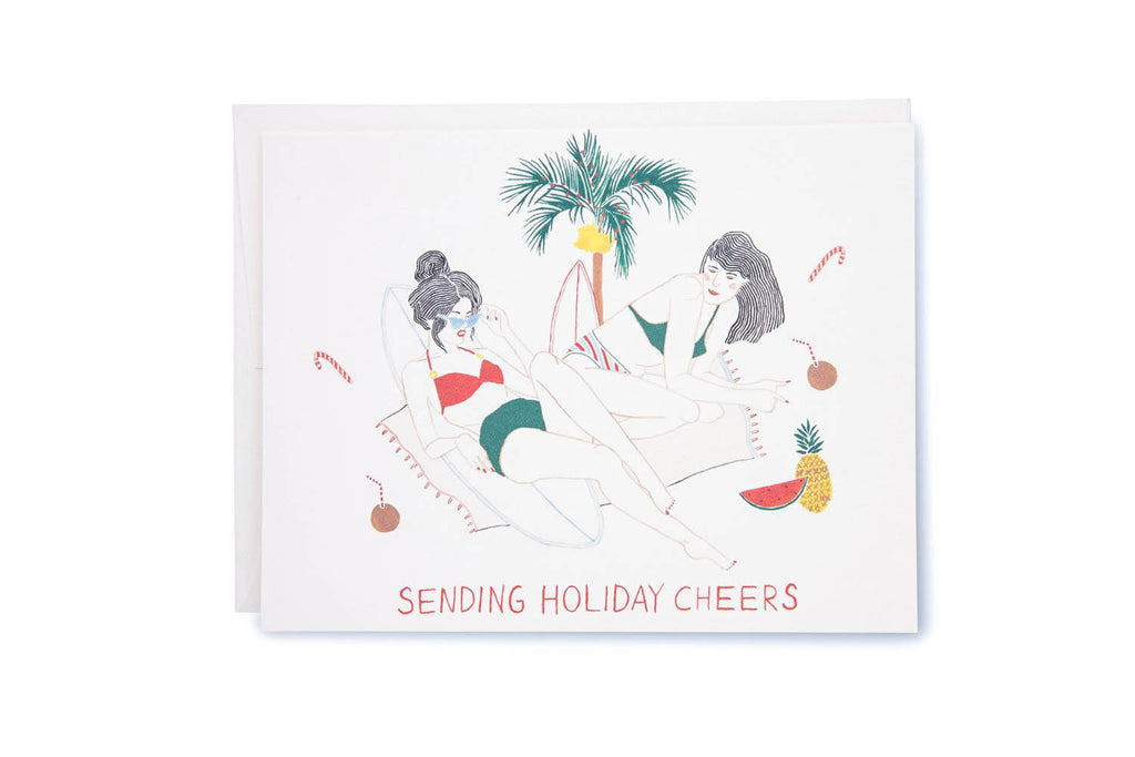 Sending Cheers Holiday Card