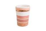 Multi Pink Stripe Cup