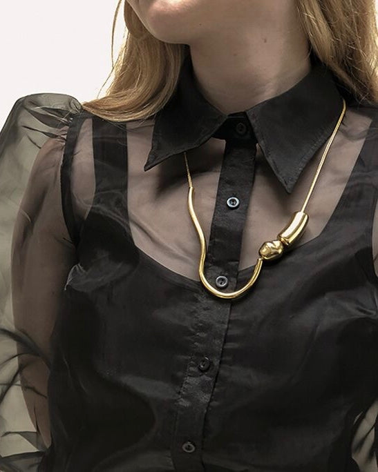Chock A Block Formless Necklace