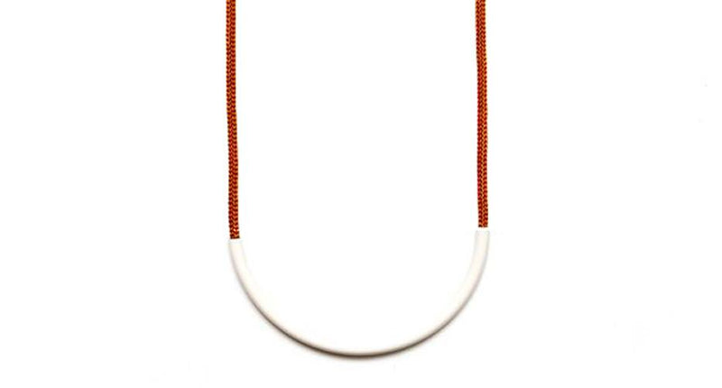 Off White Standard Necklace
