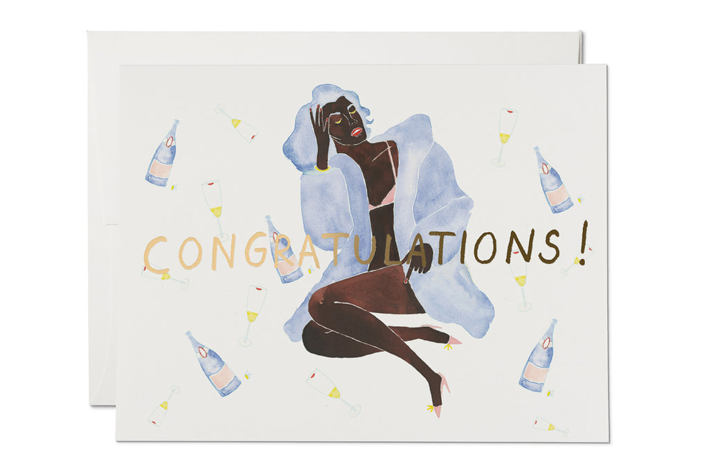 Bottles Congratulations Card