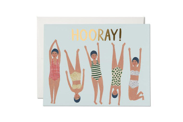 Swimmers Congrats Card