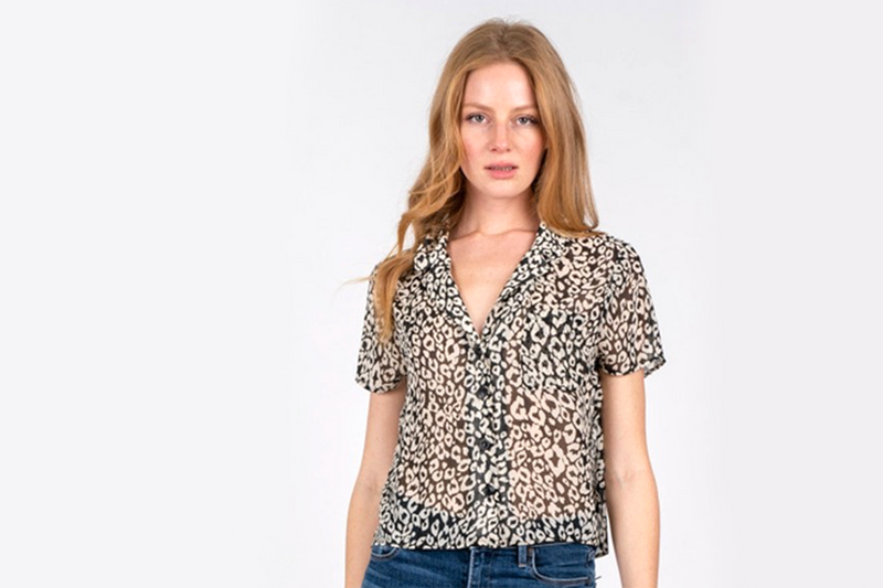 Leo Sheer Blouse