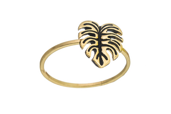 Mini Monstera Ring