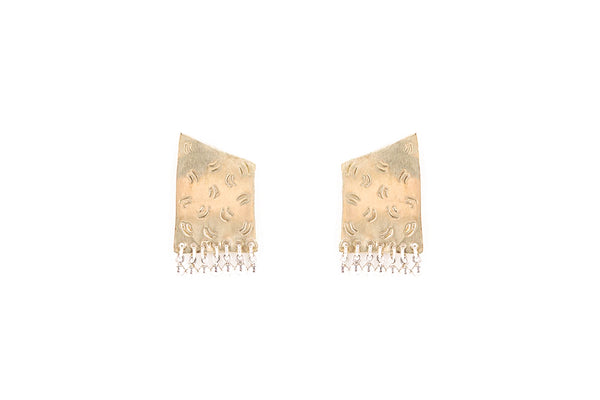 Shoulder Pad Earrings