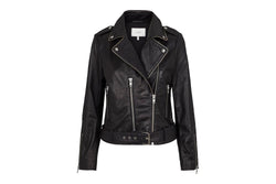 Taxane Leather Jacket