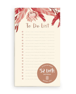 "52 Lists ""To Do List"" Notepad"