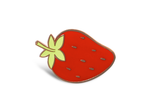Strawberry Cloisonné Pin