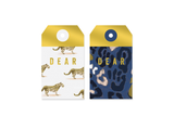 Foil Leopard Gift Tags
