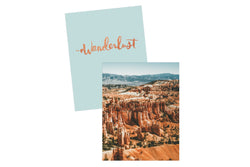 Wanderlust Mini Notebook Set