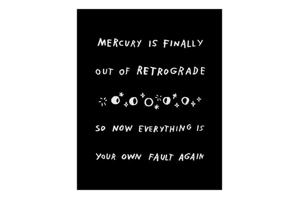 Mercury Is Finally Out Of Retrograde