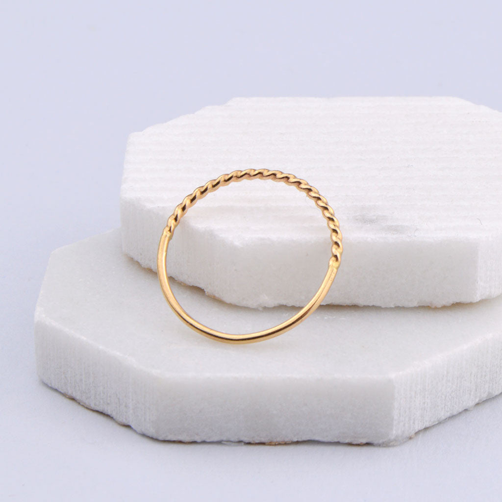 Beignet Stacking Ring