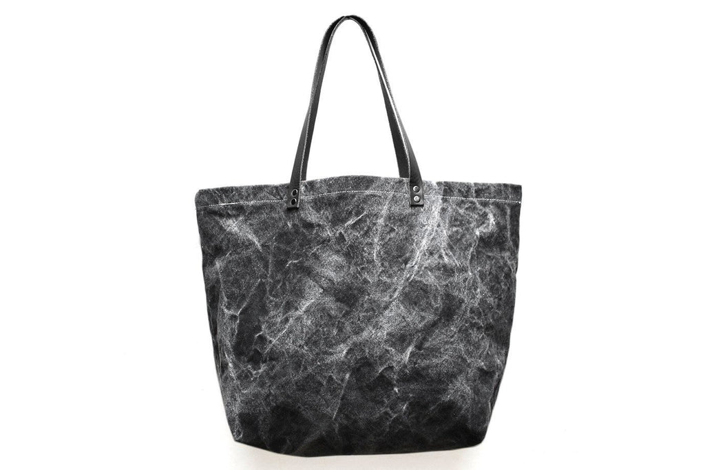 5a977f32d955 Oversize Black Marble Tote – Moorea Seal