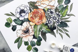 Flower Bouquet Print