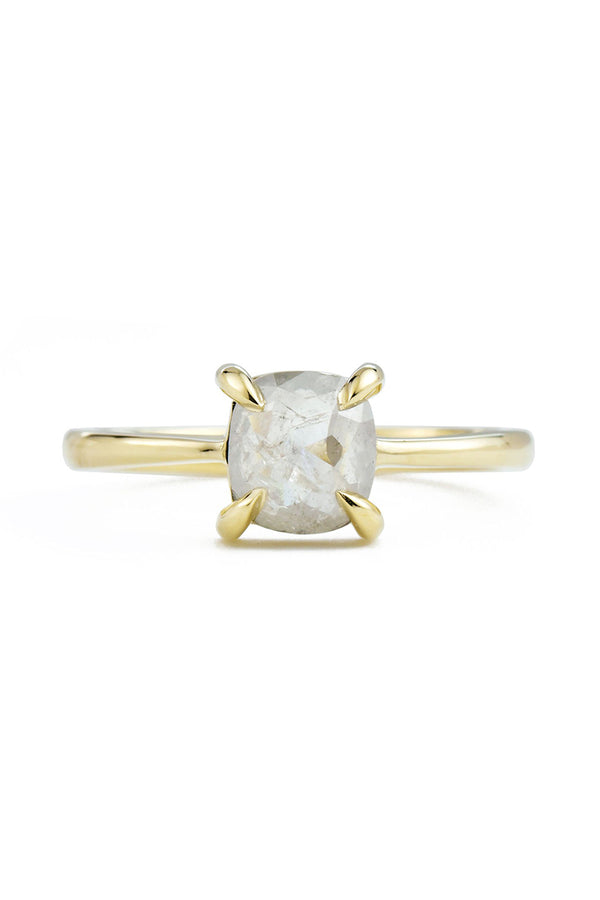 Cleo Icy White Diamond Ring