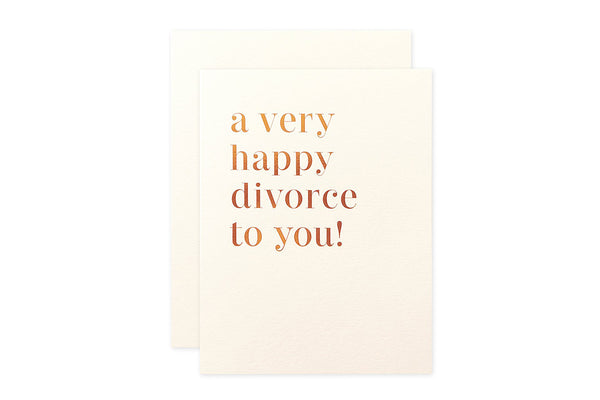 Happy Divorce Card
