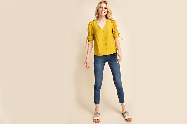 Hester V-Neck Top