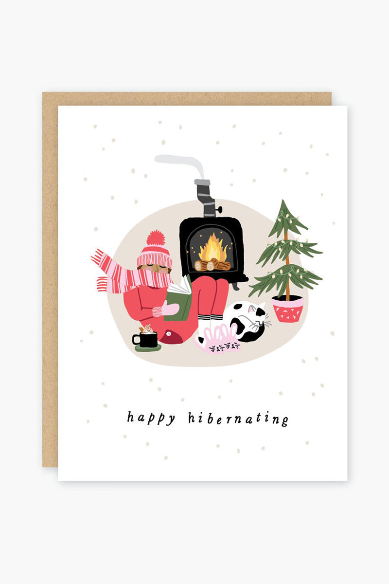 Happy Hibernating Holiday Card