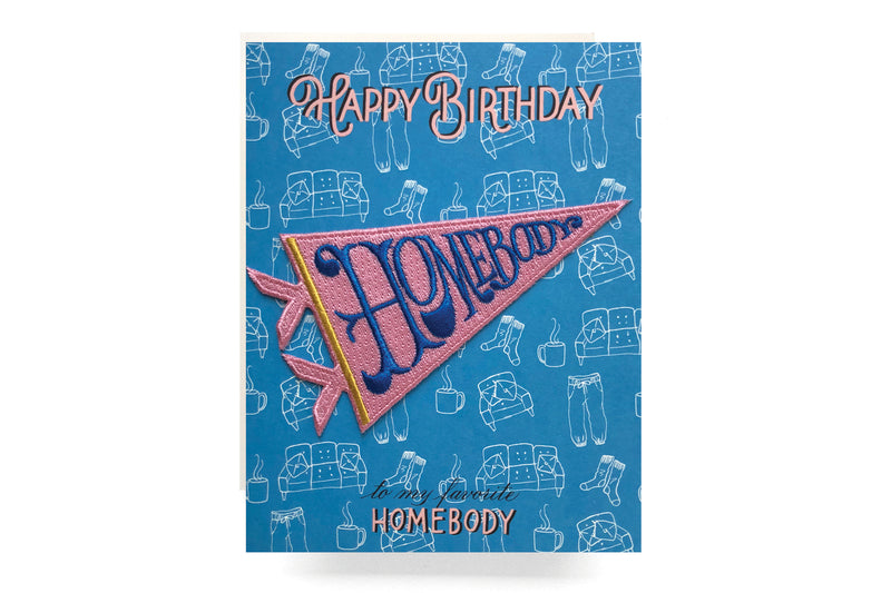 Homebody Patch Card