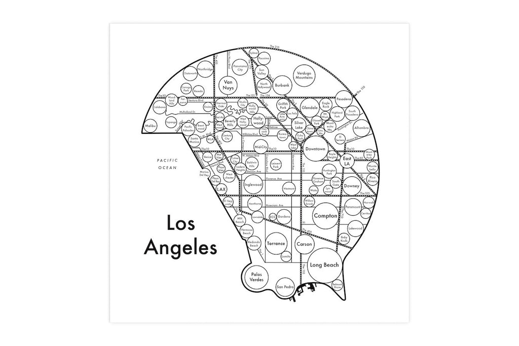 Los Angeles Map