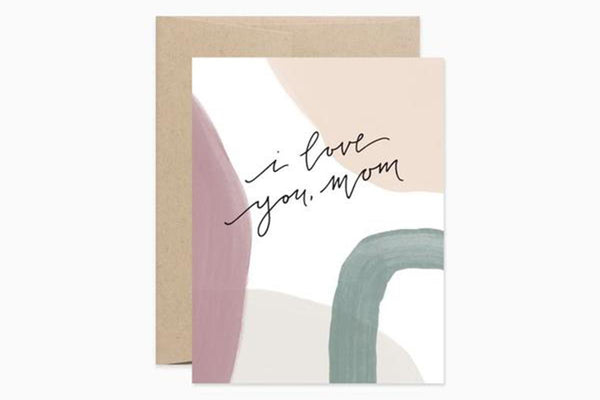 Abstract For Mom Card