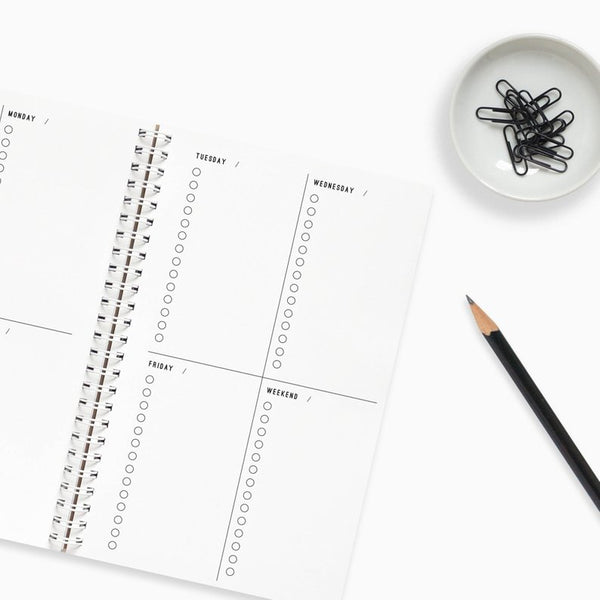 Composition Checklist Daily Planner