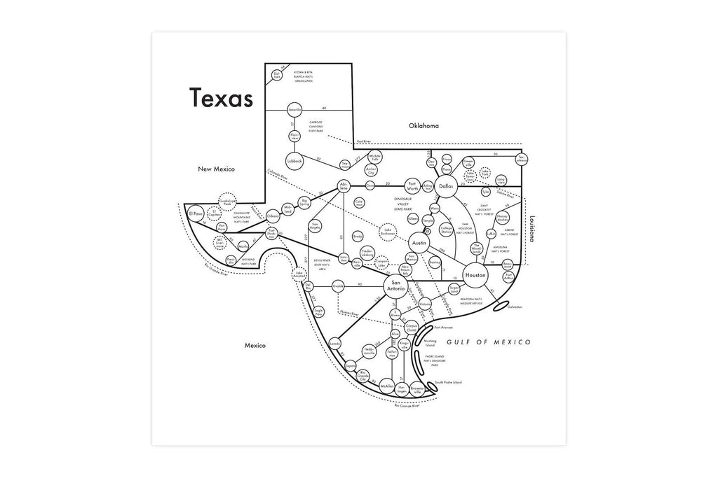Complete Map Of Texas.Texas Map