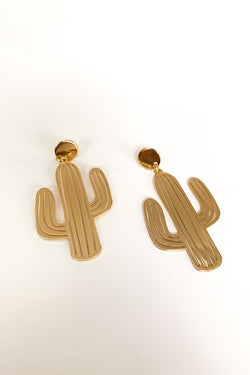 Quirky Cactus Earrings