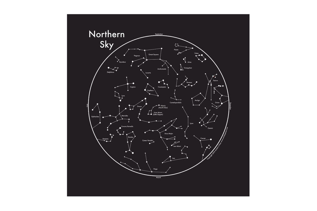 Northern Sky Map