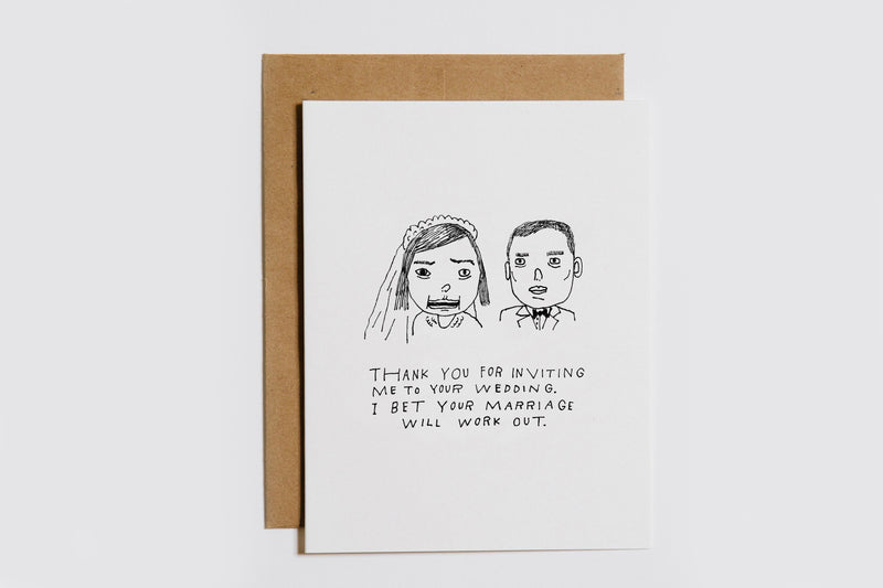 Your Marriage Will Work Card