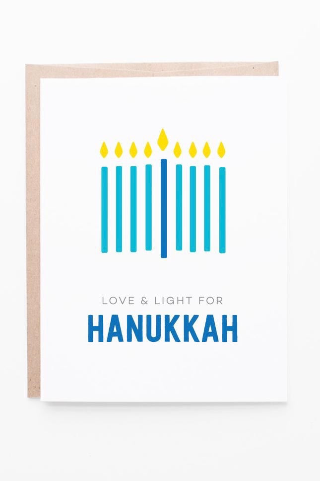 Love & Light Hanukkah Card